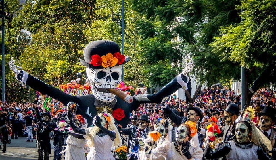 Todo listo para el Desfile de Día de Muertos 2021
