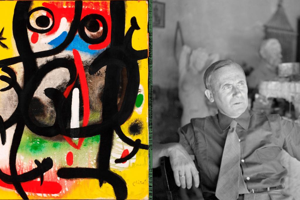 Llega al CCEMx una exposición de Joan Miró