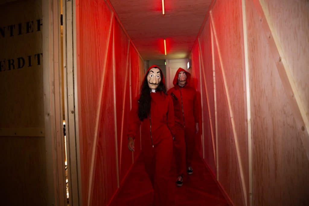"Por fin sabemos dónde será ""La Casa de Papel: The Experience"""