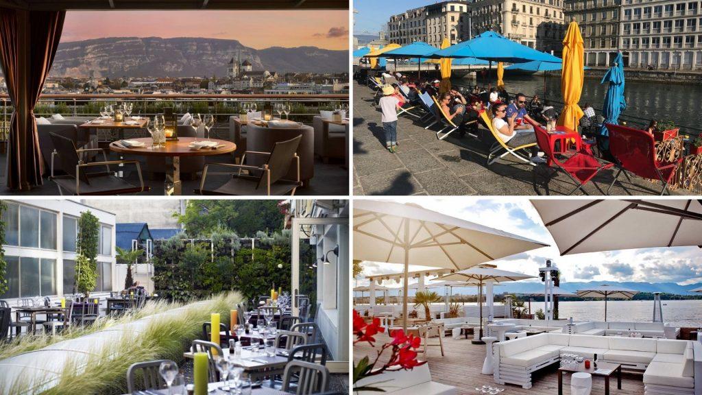 Les meilleures terrasses où boire un verre à Genève !