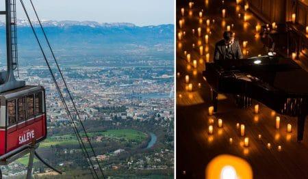 Candlelight : Des concerts classiques éclairés à la bougie arrivent au Panoramique de Salève !