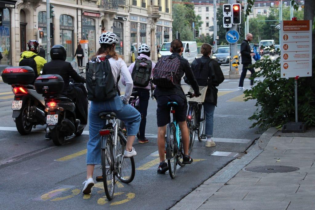 vélo covid confinement genève location pistes