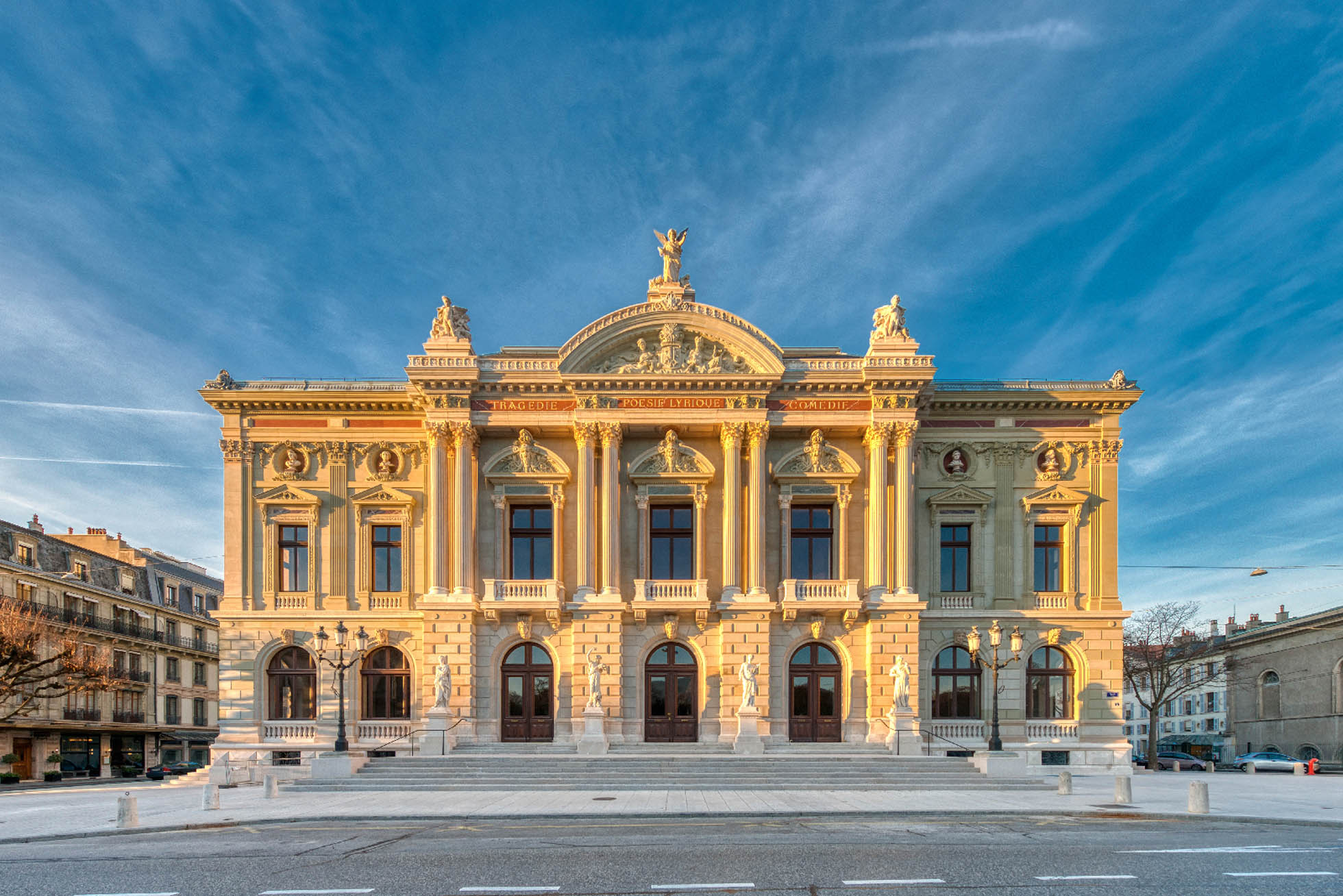 façade opéra grand théâtre de genève
