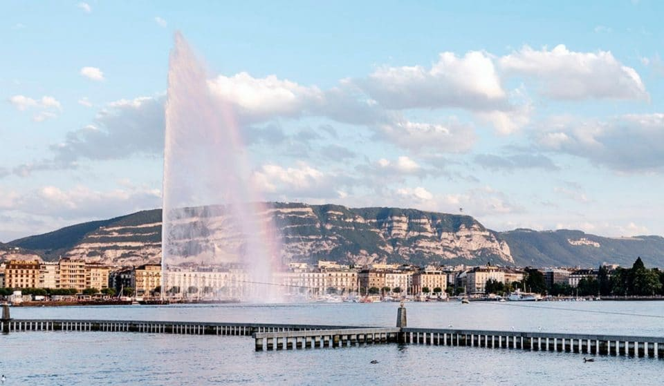 Le Jet d'Eau de Genève à l'arrêt jusqu'au 12 novembre !