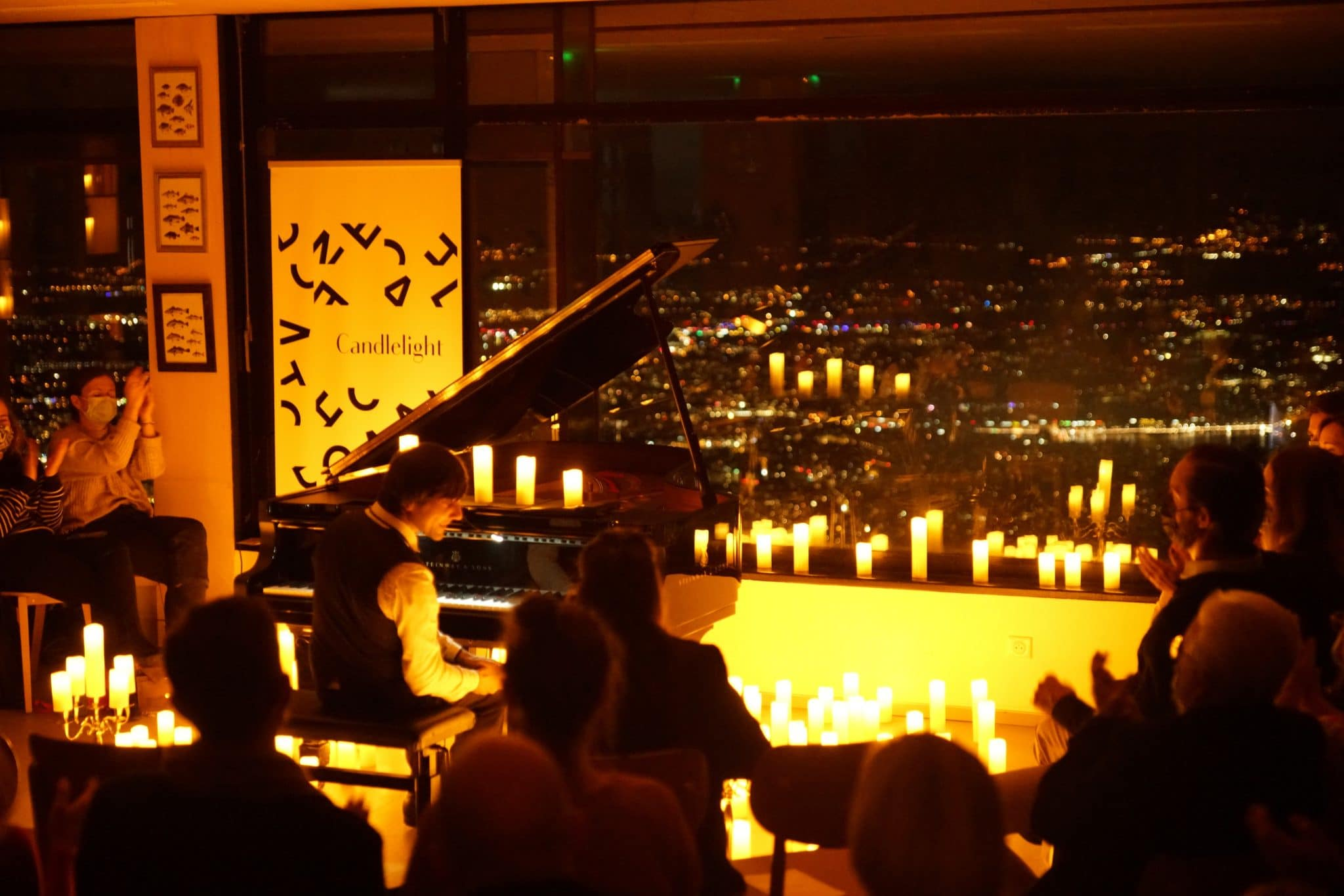 candlelight geneve salève piano vue nuit bougies