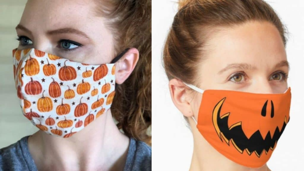 halloween masques covid coronavirus idées inspiration déguisement