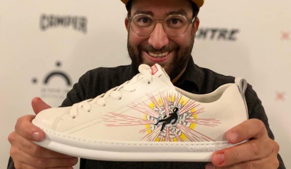 Le Grand Théâtre de Genève lance sa propre paire de sneakers avec Camper !