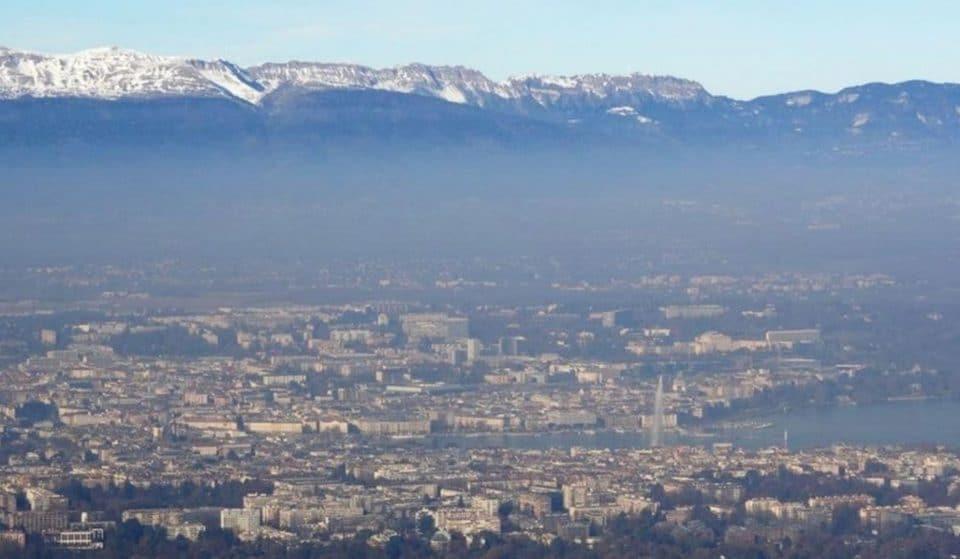 Genève est la grande ville la moins polluée de Suisse !