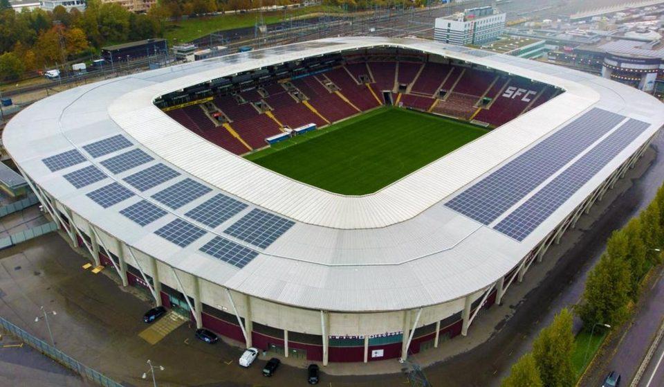 Le Stade de Genève fournit maintenant de l'énergie solaire à la ville !