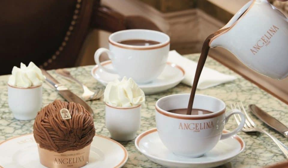 La recette du chocolat chaud crémeux comme chez Angelina Paris !