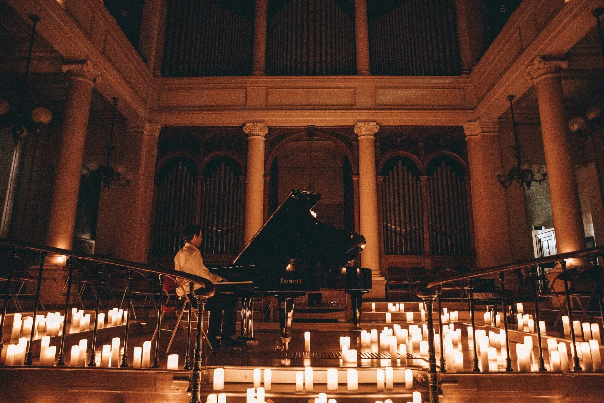 genève concert bougie candlelight musique classique piano