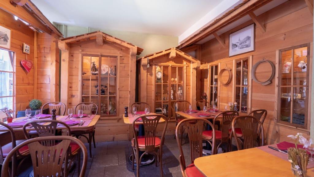 le gruyérien genève restaurant montagne hiver Chêne-Bougeries
