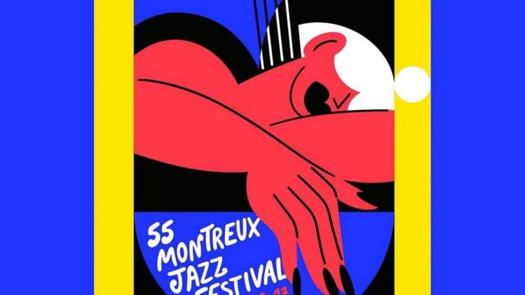 55 montreux jazz festival suisse musique mary lou faure art affiche 2021