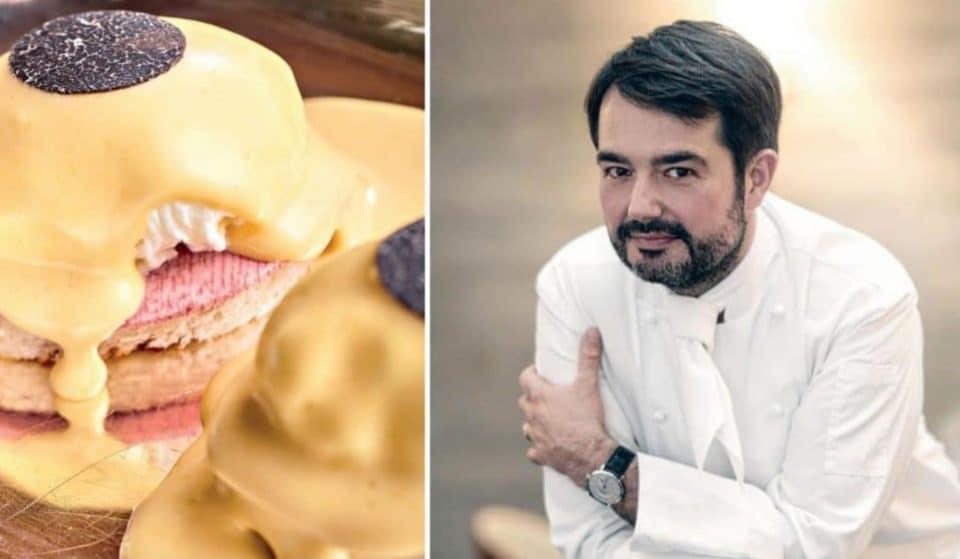 La recette des oeufs Bénédicte à la truffe du Chef Jean-François Piège !