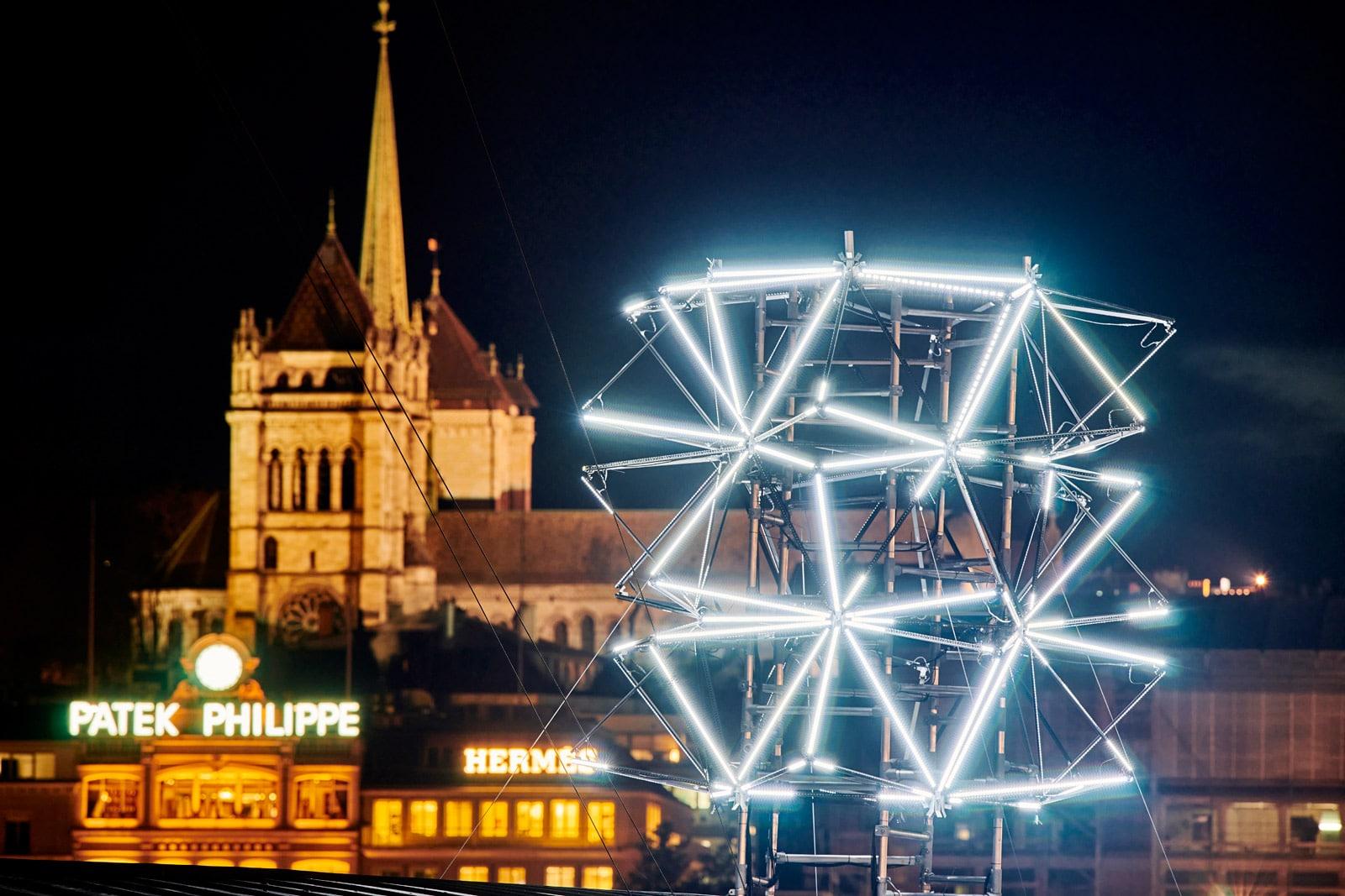 Geneva Lux - festival - lumières - ville - artistique - décoration - rues - fêtes