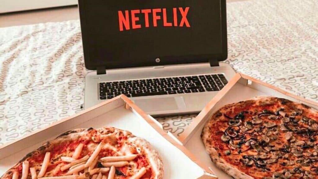 netflix job de rêve pizza binge watching séries