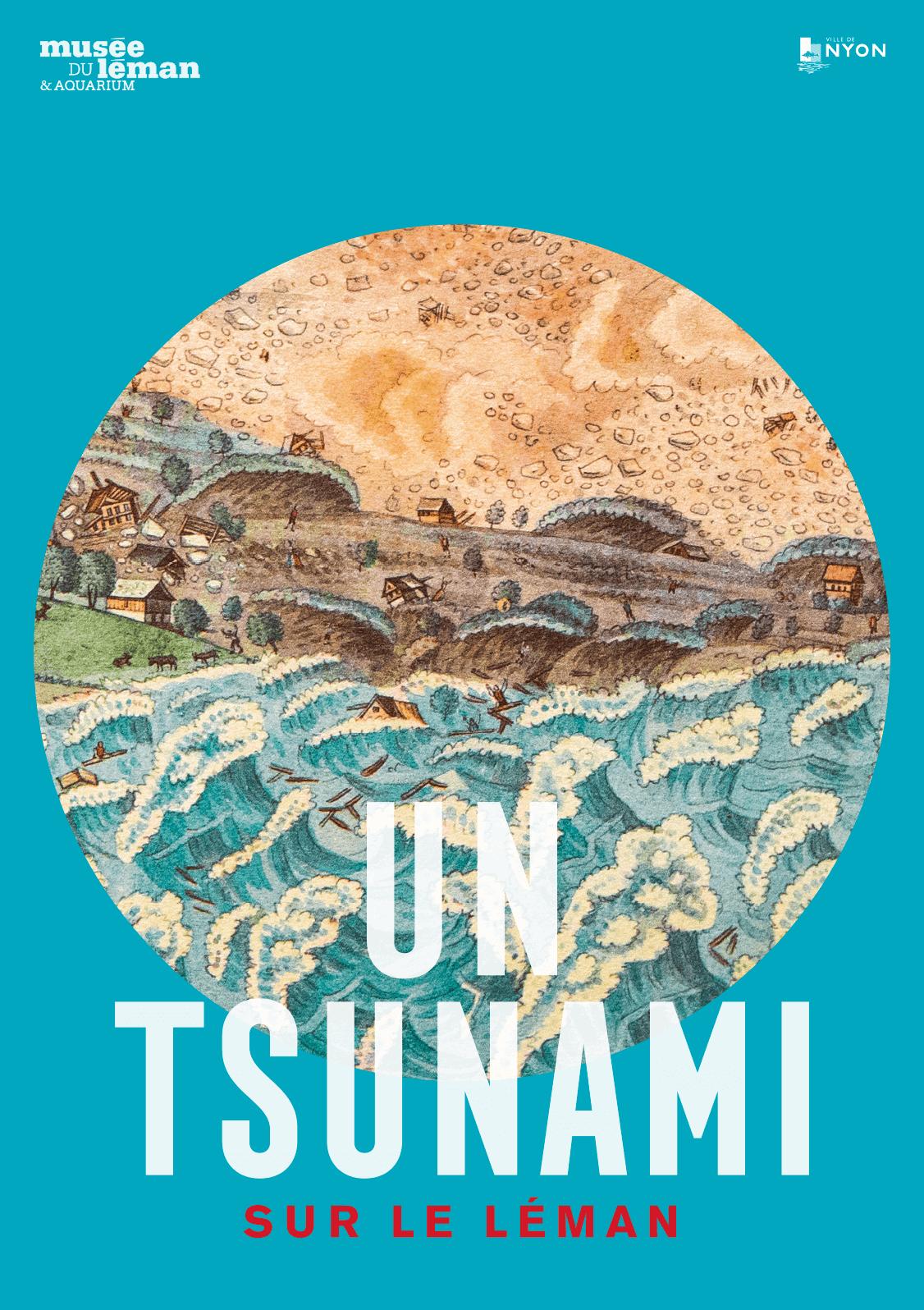 tsunami - genève - raz de marée - vague - risque - Lac Leman