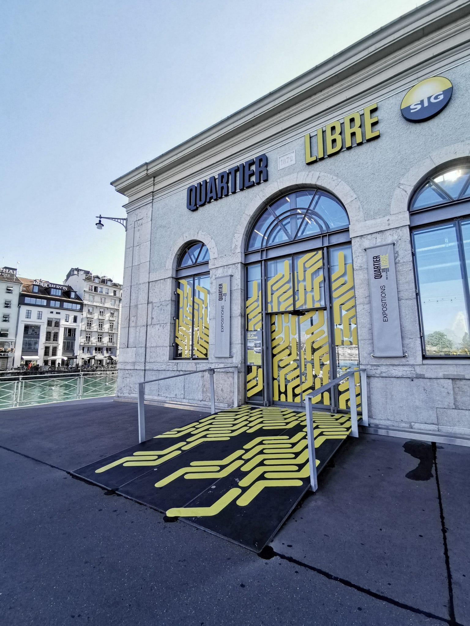 quartier libre sig - Exposition - street art - art - artiste - fresque - graffiti - tag - machine