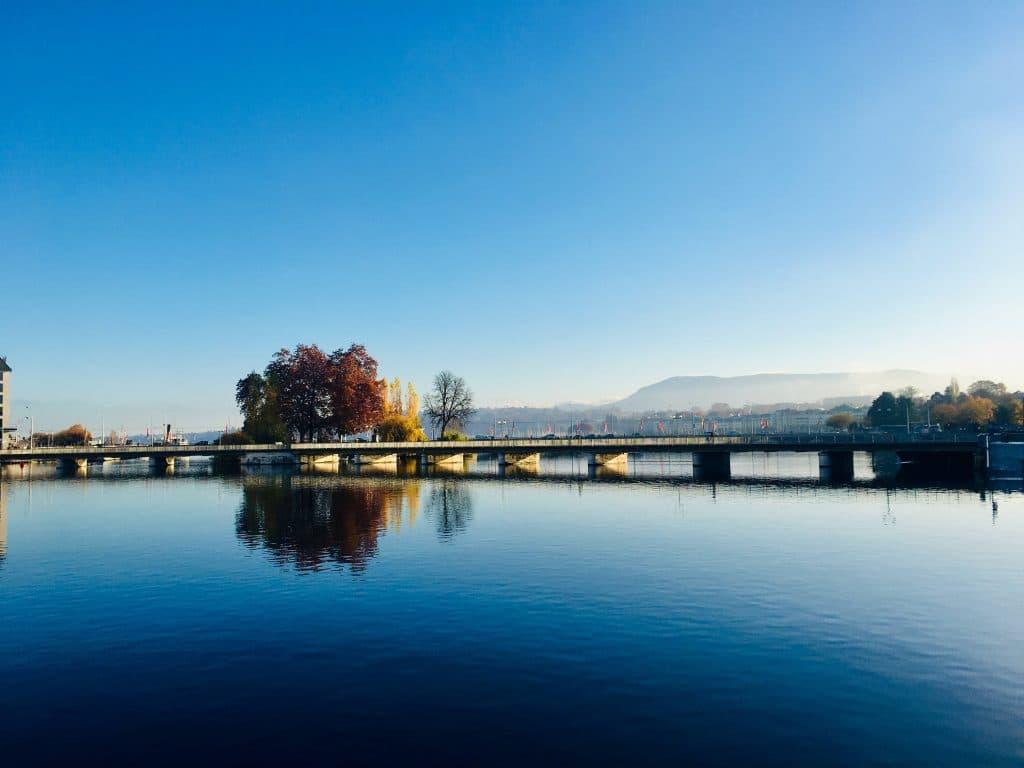 Geneve - Promenade - balade - excursion - ville - campagne - Aire - Arve - Rhone - tourisme