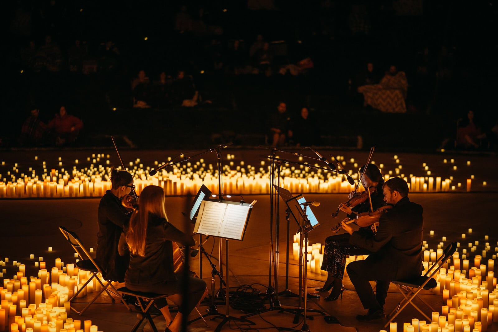 candlelight open air concert à la bougie genève