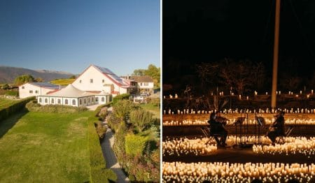 Candlelight Open Air : Des concerts classiques éclairés à la bougie en plein air dans un domaine viticole genevois !