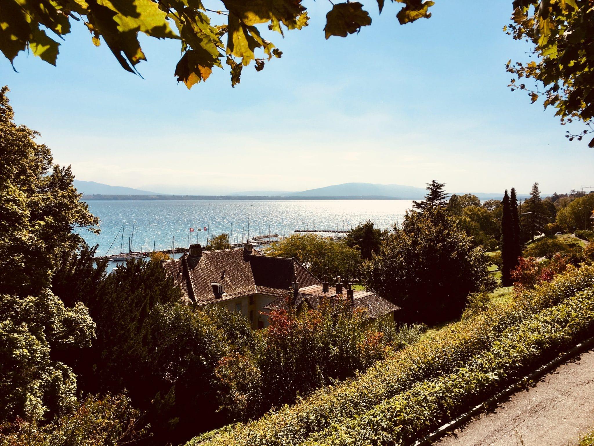 Nyon - Lac Leman - Balade - Visite - promenade - découverte - château - baignade - tourisme - découverte - vin