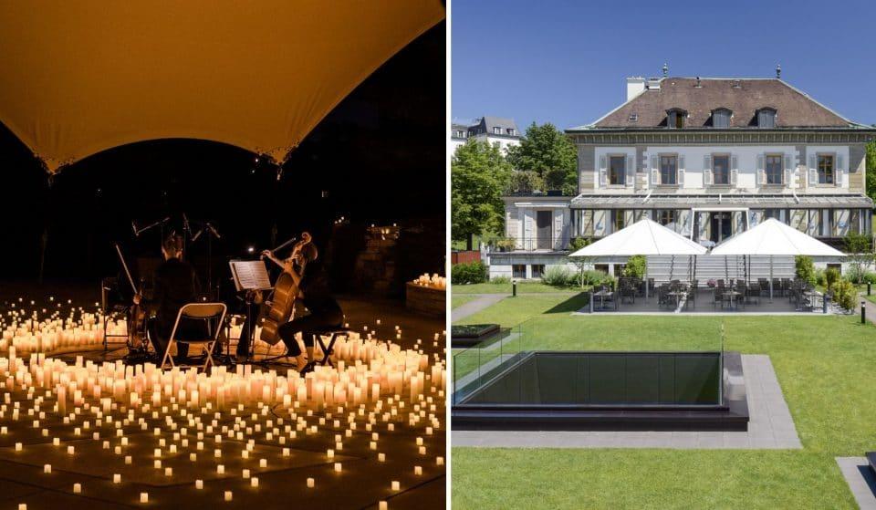 Candlelight Open Air : Des concerts classiques éclairés à la bougie en plein air au Restaurant Vieux Bois à Genève !