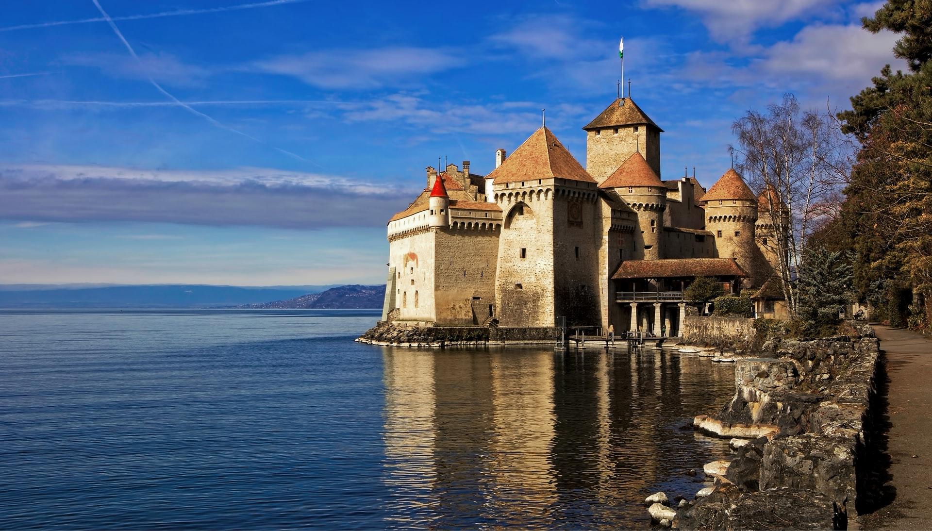 château de chillon veytaux suisse genève balade romantique saint valentin