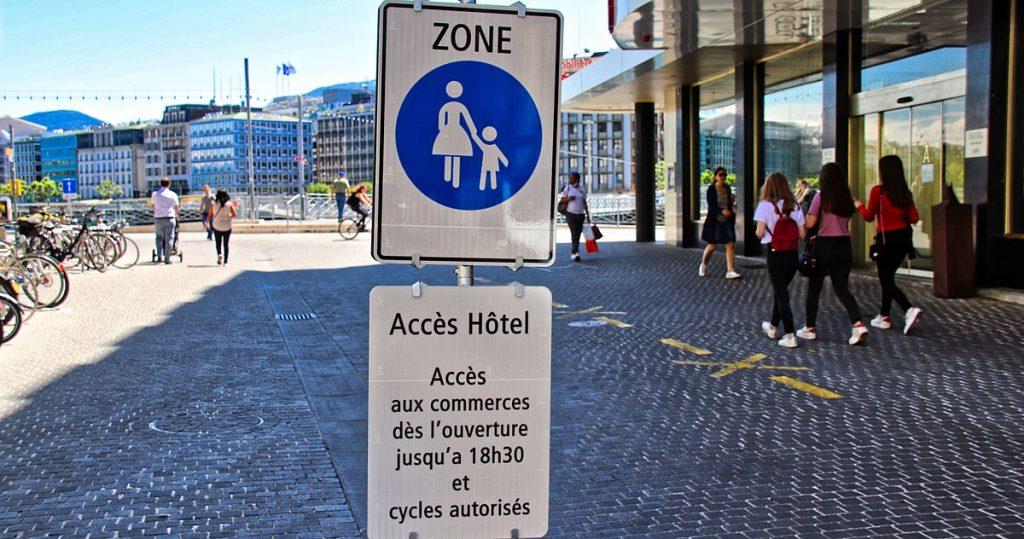 Le centre de Genève, bientôt une zone piétonne ?