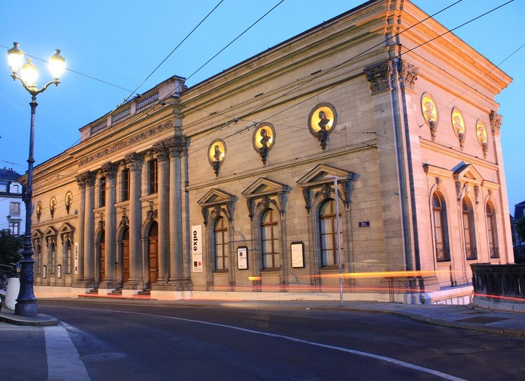 Palais de l'Athénée - Bâtiment de nuit