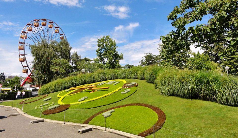 Découvrez les secrets du jardin anglais à Genève !
