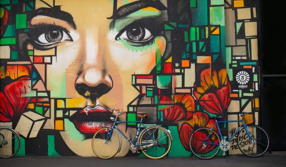 Suivez la création d'une fresque de street art géante dans les rues de Genève !