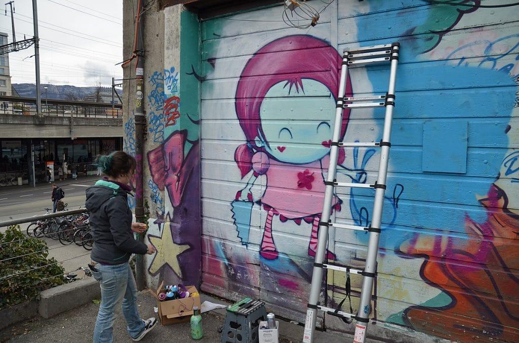 street art genève
