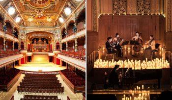 Candlelight : Des concerts classiques éclairés à la bougie arrivent au Victoria Hall !