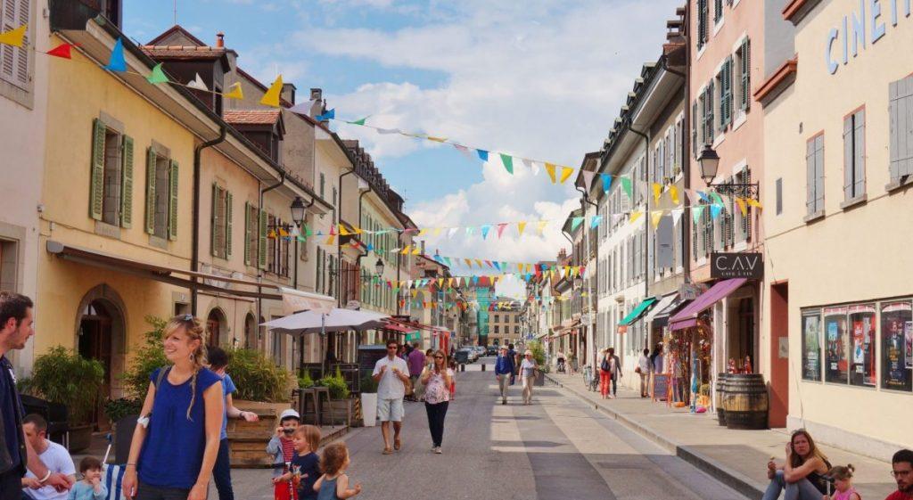 Carouge - tourisme - balade - Genève - ville - visite