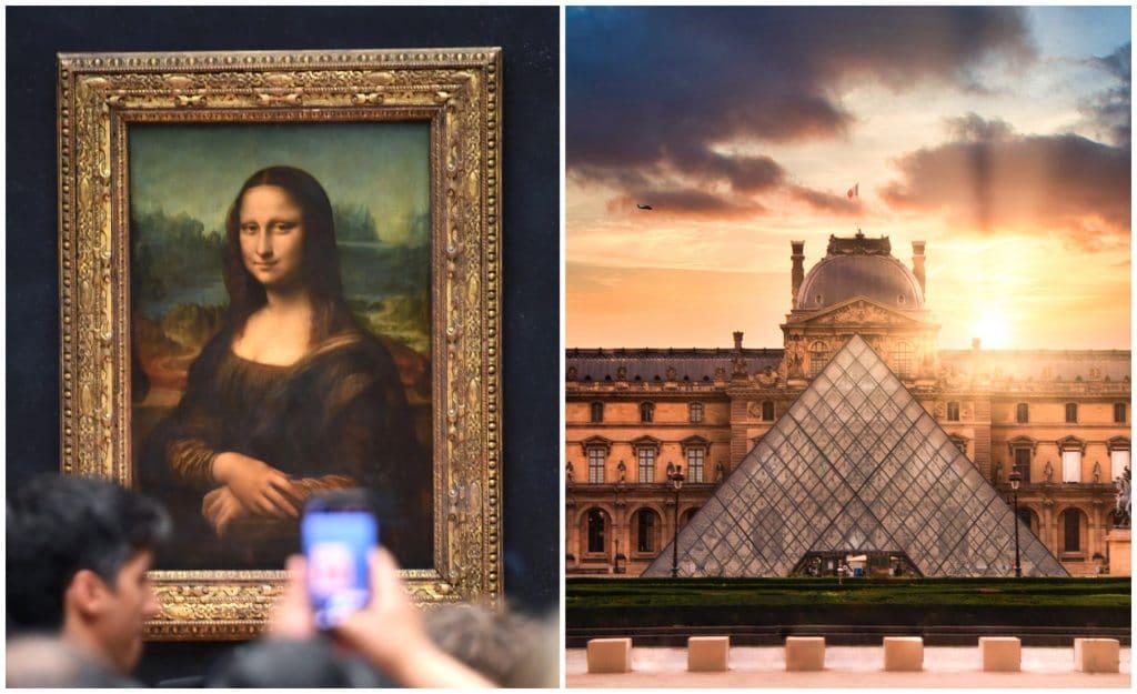 louvre collection en ligne virtuelle culture art paris
