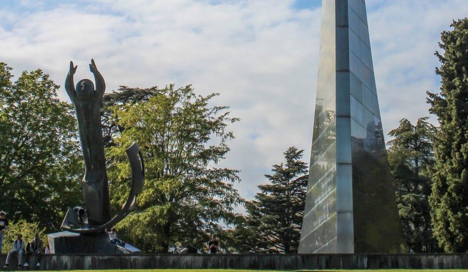 60 ans du premier Homme dans l'espace : l'histoire du monument du parc de l'Ariana à Genève !