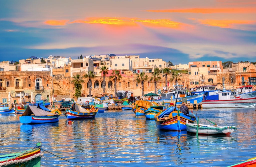 malte voyage aide touristes 200 euros europe été 2021