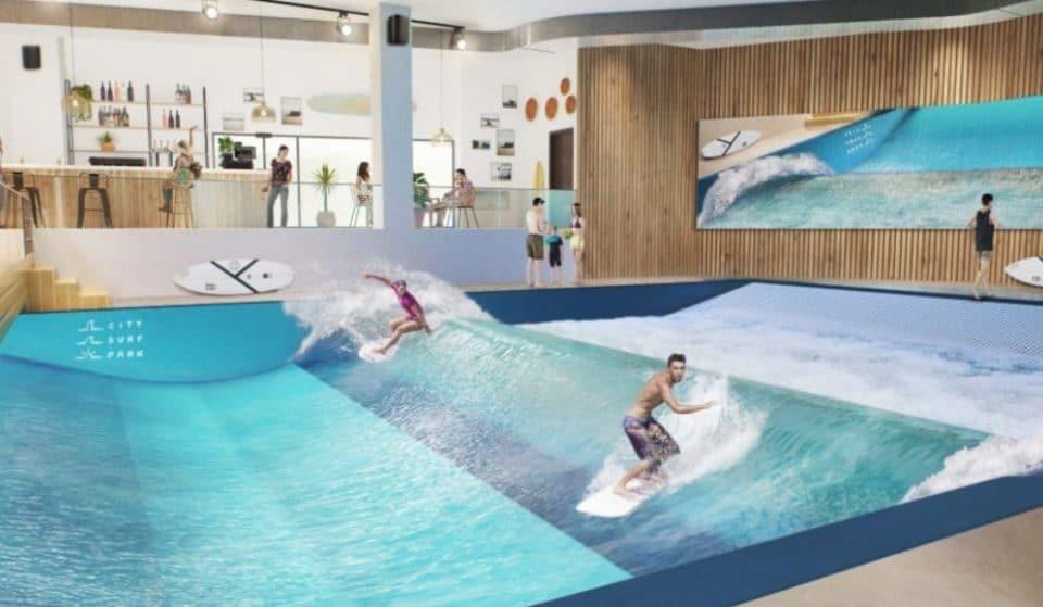 City Surf Park : la plus grande vague de surf indoor d'Europe sera près de Lyon !