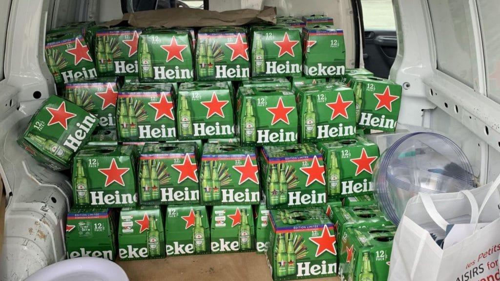 genève bière douane insolite controle 1100 litres