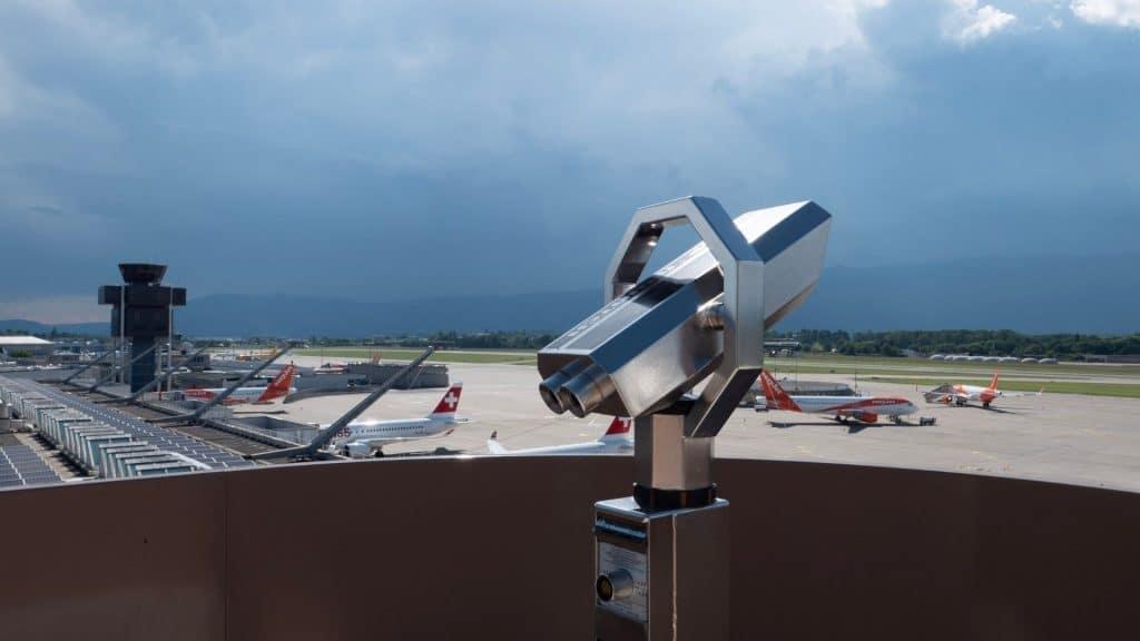 geneve terrasse aéroport ouverture été