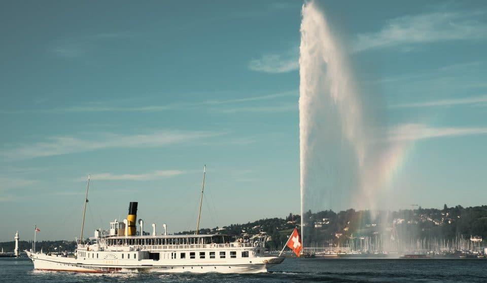La Fête du 1er août à Genève se tiendra au fil de l'eau sur les bords du Lac Léman !