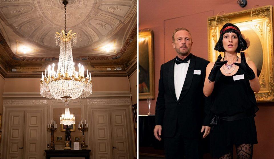 Murder Mystery : ce jeu d'enquête immersif a ouvert ses portes à Genève au Palais de l'Athénée !