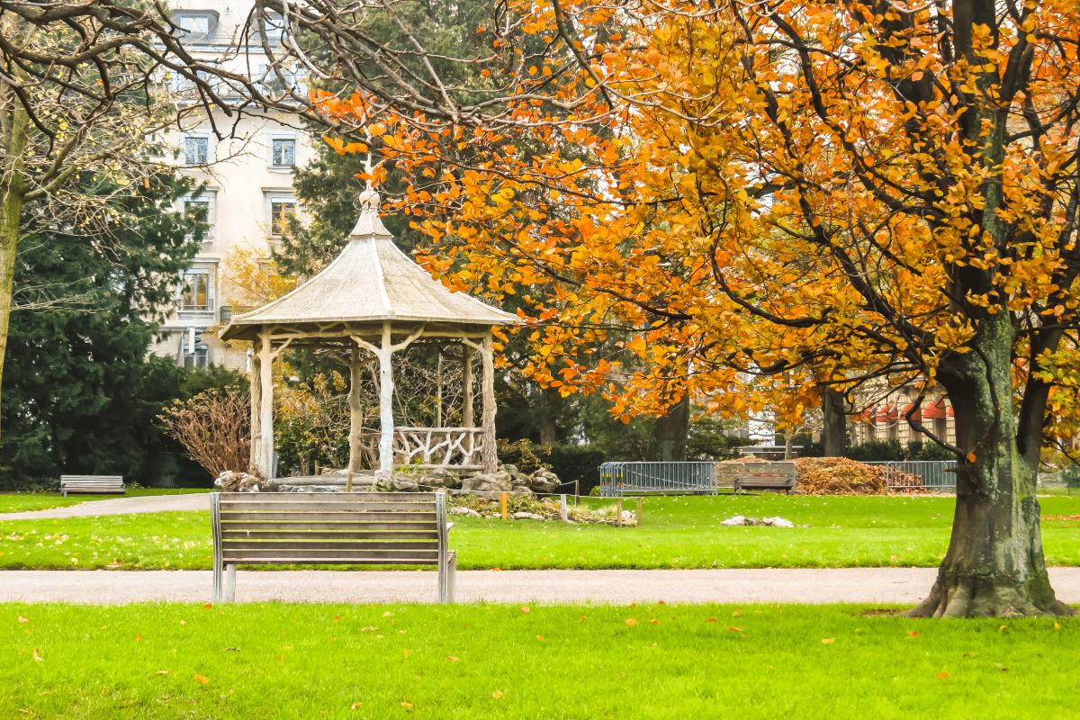 Jardin Anglais - Genève