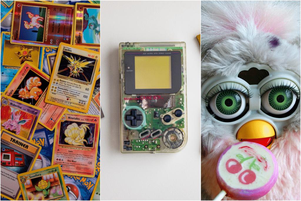 objets des années 90