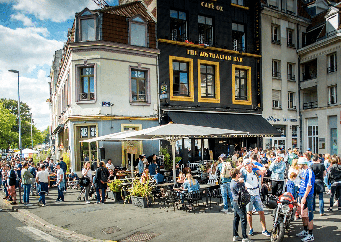 café oz lille terrasse