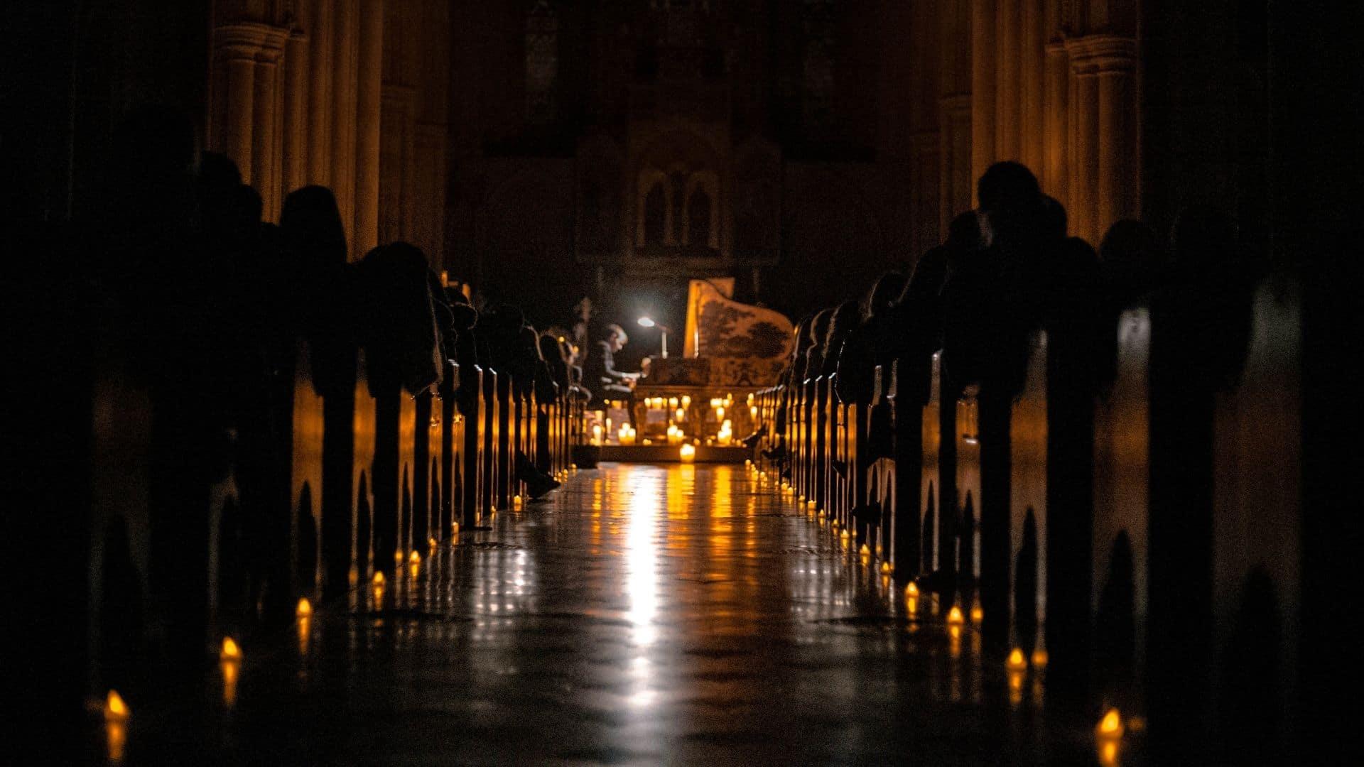 cathedrale notre dame de treille lille candlelight concert musique classique 1