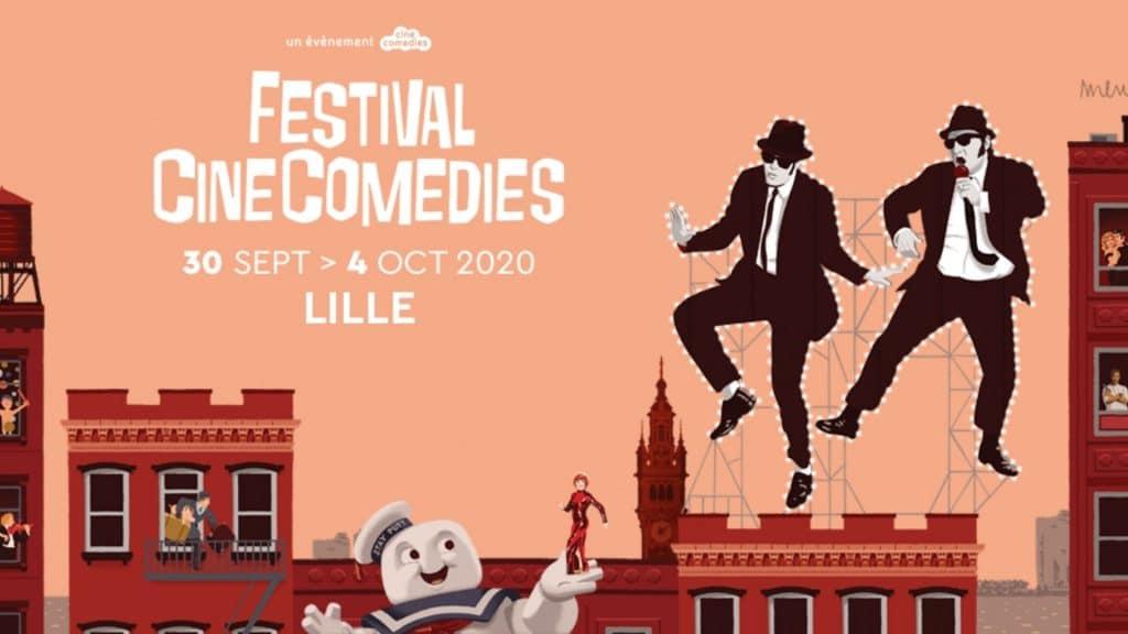 Festival CineComedies : le festival de cinéma est de retour à Lille du 30 septembre au 4 octobre !