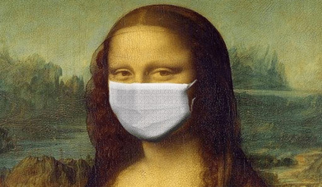 Mona Lisa Covid
