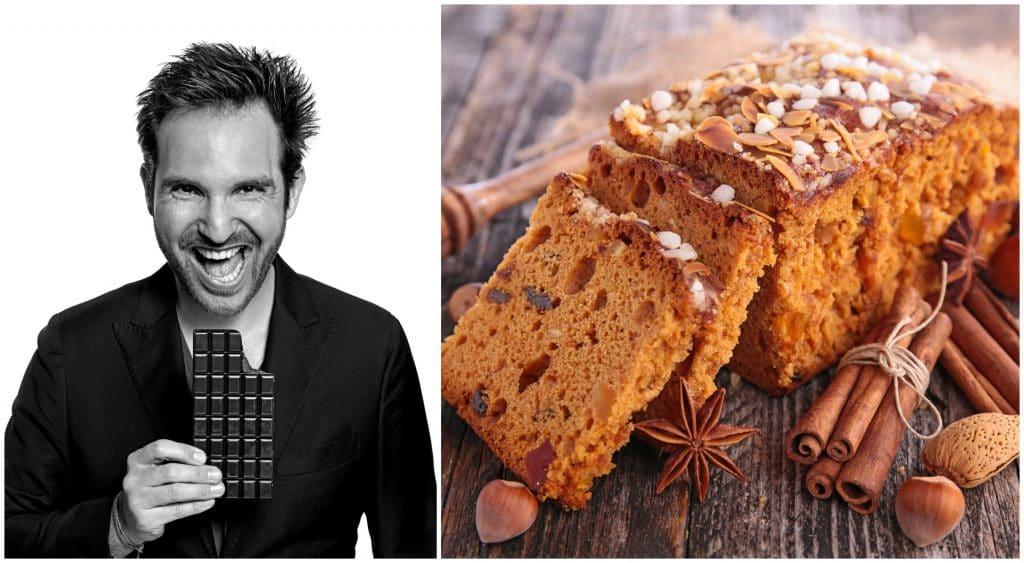 La recette du pain d'épices du Chef Christophe Michalak !